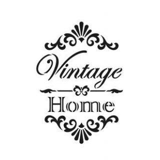 Schablone Vintage Home A4 Viva
