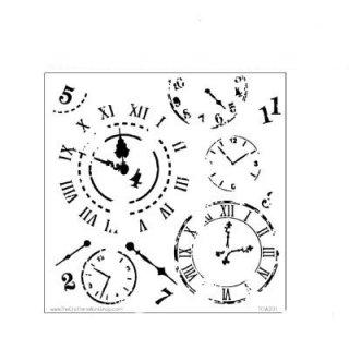 Schablone TCW  Mini Time Travel 15x15 cm