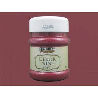 Soft Dekor Farbe Burgund rot 230 ml