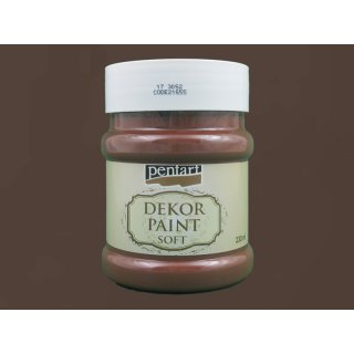 Soft Dekor Farbe braun 230 ml