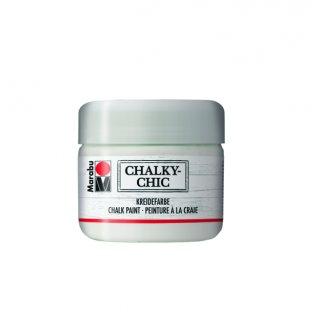 Marabu Chalky-Chic Kreidefarbe Edelweiß 225ml