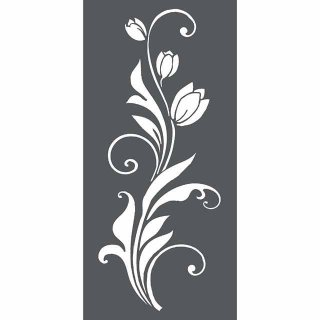Schablone Stamperia 12 x 25 Tulip decoration