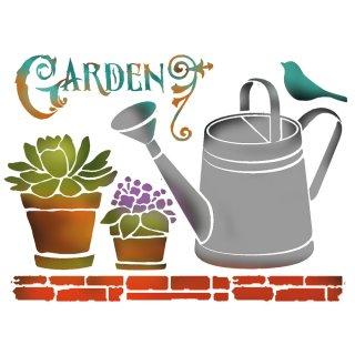 Schablone Stamperia 20 x 15 ca A5 Garden