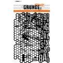 Schablone StudioLight Mask Artist`s A5 Grunge Collection...